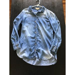 Cloth & stone Chambray shirt